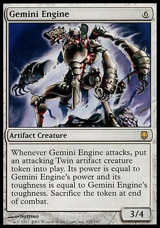 MOTOR GEMINIANO / GEMINI ENGINE (DARKSTEEL)