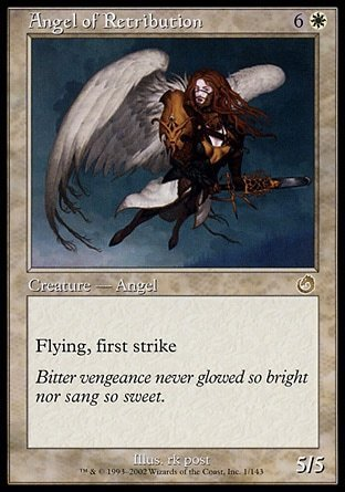 ANGEL DE CASTIGO / ANGEL OF RETRIBUTION (TORMENTO)