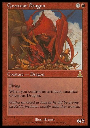 DRAGON CODICIOSO / COVETOUS DRAGON (DESTINO DE URZA)