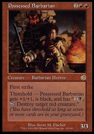 BARBARO POSEIDO / POSSESSED BARBARIAN (TORMENTO)