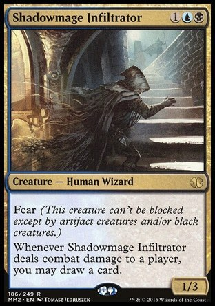 ESPIA MAGOSOMBRA / SHADOWMAGE INFILTRATOR (MODERN MASTERS 2015)
