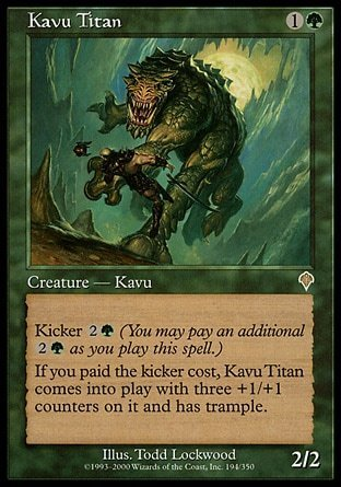 KAVU TITAN (INVASION)
