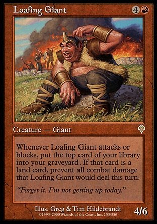 GIGANTE ARAGAN / LOAFING GIANT (INVASION)