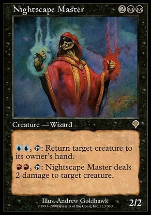 MAESTRO ESCAPANOCHE / NIGHTSCAPE MAGE (INVASION)
