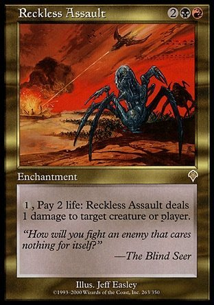 ATAQUE TEMERARIO / RECKLESS ASSAULT (INVASION)