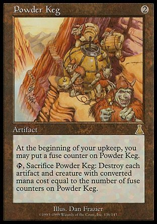 BARRIL DE POLVORA / POWDER KEG (DESTINO URZA)