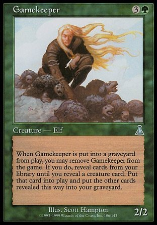 GUARDABOSQUE / GAMEKEEPER (DESTINO URZA)