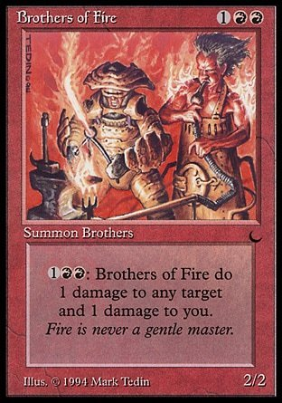 HERMANOS DEL FUEGO / BROTHERS OF FIRE (THE DARK)