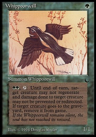 WHIPPOORWILL / CAPRIMULGO (THE DARK)
