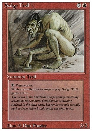 SEDGE TROLL (REVISED)