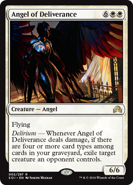 ANGEL DE LA LIBERACION / ANGEL OF DELIVERANCE (SOMBRAS SOBRE INNISTRAD)