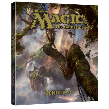 LIBRO THE ART OF MAGIC: ZENDIKAR
