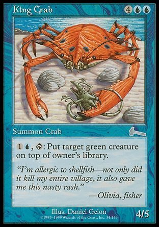 CENTOLLO / KING CRAB (LEGADO DE URZA)