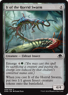 ENTE DEL ENJAMBRE ESPANTOSO / IT OF THE HORRID SWARM (LUNA DE HORRORES)