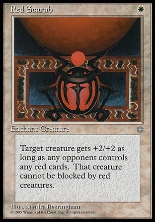 ESCARABAJO ROJO / RED SCARAB (ERA GLACIAL)