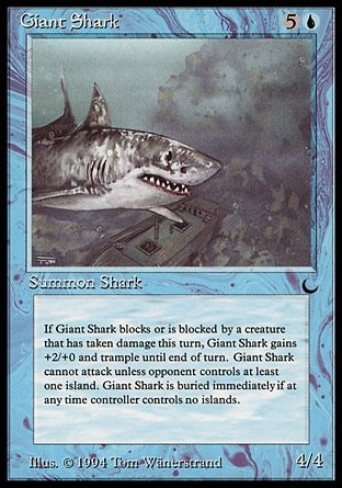 GIANT SHARK (THE DARK)