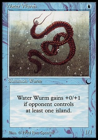 WATER WURM (THE DARK)