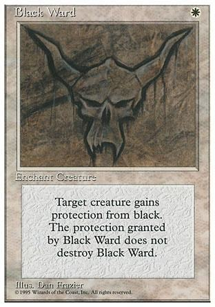 GUARDA DE NEGRO / BLACK WARD (CUARTA)