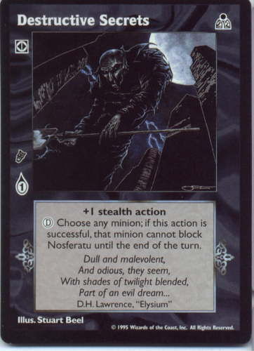 DESTRUCTIVE SECRETS (DARK SOVEREIGNS)