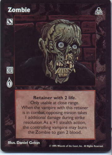 ZOMBIE (DARK SOVEREIGNS)