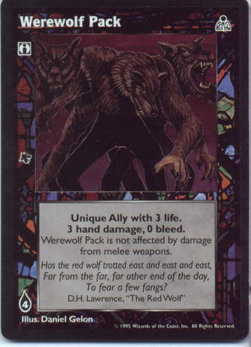 WEREWOLF PACK (DARK SOVEREIGNS)