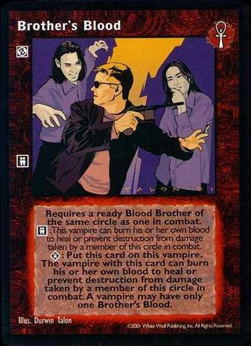 BROTHER'S BLOOD (BLOODLINES)