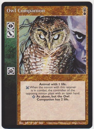 OWL COMPANION (ANARCHS)