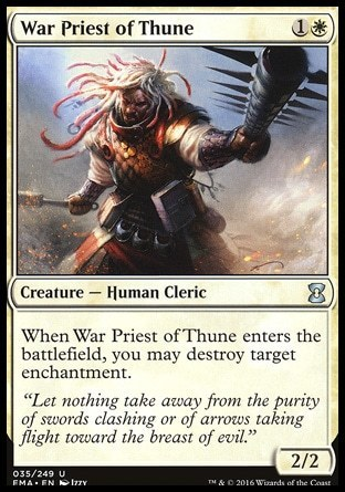 SACERDOTE GUERRERO DE THUNE / WAR PRIEST OF THUNE (ETERNAL MASTERS)