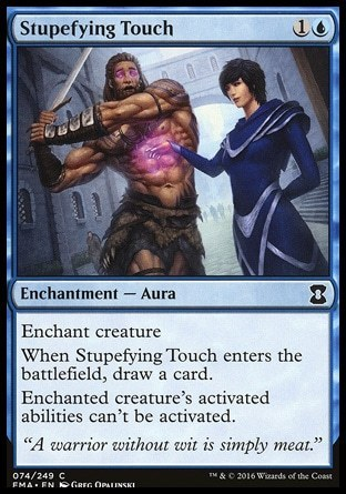 TOQUE ATURDIDOR / STUPEFYING TOUCH (ETERNAL MASTERS)