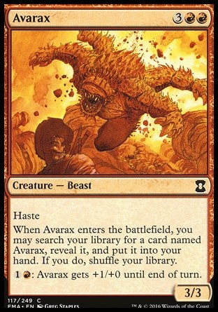 AVARAX (ETERNAL MASTERS)