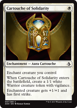 CARTUCHO DE SOLIDARIDAD / CARTOUCHE OF SOLIDARITY (AMONKHET)