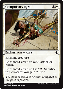 DESCANSO OBLIGATORIO / COMPULSORY REST (AMONKHET)