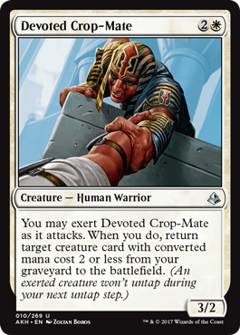 CAMARADA DE SIMIENTE ENTREGADO / DEVOTED CROP-MATE (AMONKHET)