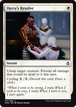 DETERMINACION DE DJERU / DJERU'S RESOLVE (AMONKHET)