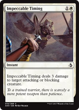 LLEGADA OPORTUNA / IMPECCABLE TIMING (AMONKHET)