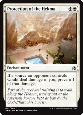 PROTECCION DE LA HEKMA / PROTECTION OF THE HEKMA (AMONKHET)