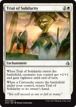 PRUEBA DE SOLIDARIDAD / TRIAL OF SOLIDARITY (AMONKHET)