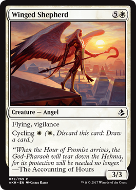 PASTOR ALADO / WINGED SHEPHERD (AMONKHET)