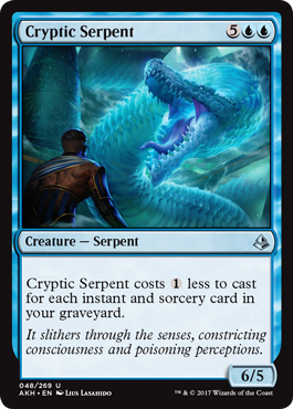 SERPIENTE CRIPTICA / CRYPTIC SERPENT (AMONKHET)