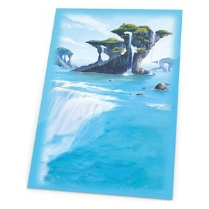 PAQUETE DE FUNDAS ULTIMATE GUARD LANDS EDITION - ISLA (80 FUNDAS)