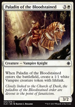 PALADIN DE LOS ENSANGRENTADOS / PALADIN OF THE BLOODSTAINED (IXALAN)