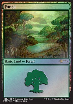 BOSQUE / FOREST (STANDARD SHOWDOWN PROMOS - REBECCA GUAY)