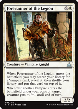 AVANZADILLA DE LA LEGION / FORERUNNER OF THE LEGION (RIVALES DE IXALAN)