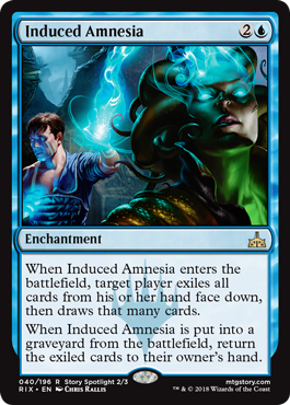 AMNESIA INDUCIDA / INDUCED AMNESIA (RIVALES DE IXALAN)