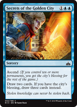 SECRETOS DE LA CIUDAD DORADA / SECRETS OF THE GOLDEN CITY (RIVALES DE IXALAN)