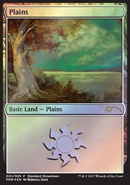 LLANURA / PLAINS (STANDARD SHOWDOWN PROMOS - REBECCA GUAY)