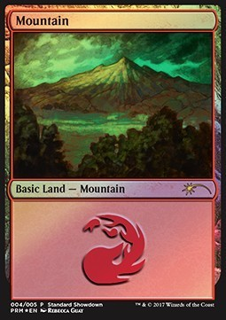 MONTAÑA / MOUNTAIN (STANDARD SHOWDOWN PROMOS - REBECCA GUAY)