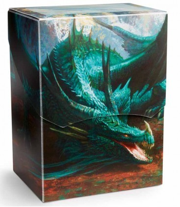 CAJA MAZO DRAGON SHIELD DECK SHELL - COLOR MENTA (EDICION LIMITADA)