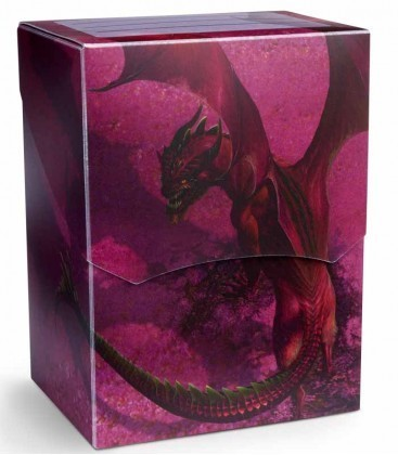 CAJA MAZO DRAGON SHIELD DECK SHELL - COLOR MAGENTA (EDICION LIMITADA)