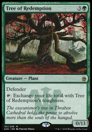 ARBOL DE LA REDENCION / TREE OF REDEMPTION (MASTERS 25)